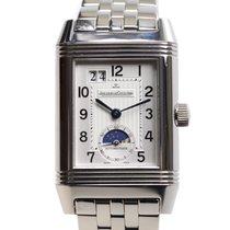 Jaeger-LeCoultre New  Reverso Stainless Steel White Automatic...