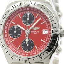 Breitling Polished Breitling Chronomat Longitude Steel...