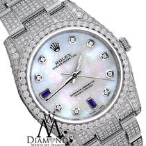 Rolex New Style Rolex Oyster Perpetual Genuine Pearl Face W...