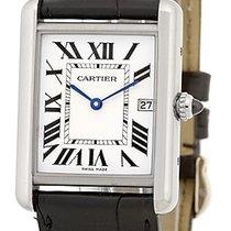 "Cartier ""Louis Cartier Classic Tank"" Strapwatch."