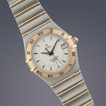 Omega Constellation Perpetual Calendar steel&gold quartz