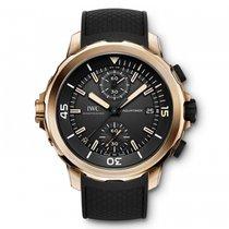 IWC Aquatimer Chronograph Charles Darwin Black Dial Automatic...
