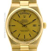 Rolex 18k yellow gold vintage 1981 Gent's OysterQuartz...