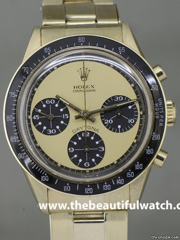 Rolex DAYTONA PAUL NEWMAN GOLD &amp;#34;6241&amp;#34;