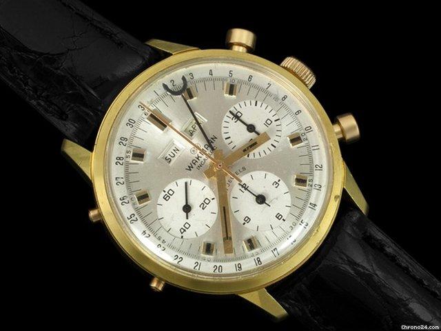 Wakmann Triple-date Chronograph Wakmann Triple Date