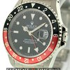 Rolex GMT-Master II Stainless Steel Coke Bezel Black Di...