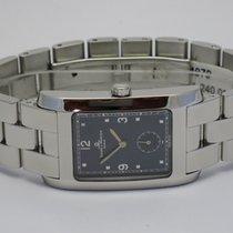 """Baume & Mercier """"Hampton"""" Gents. Steel bracelet...."""
