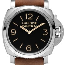 Panerai [NEW] Luminor 1950 3 Days Acciaio PAM 372 47mm Watch