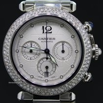 Cartier Pasha Automatic chronograph all steel 38mm