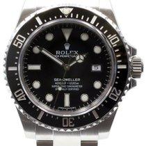 Rolex Sea-Dweller 4000 Ceramic 116600 Black Stainless Steel...