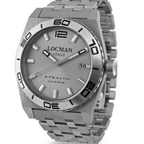 Locman Stealth 021100AK-AGKBR0 Quartz Titan Men's Watch
