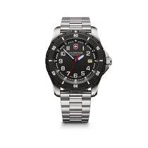 Victorinox Swiss Army Maverick Sport Large black dial, steel...