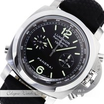 Panerai 1950 Flyback Rattrapante Chronograph Stahl PAM00213