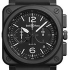 Bell & Ross Aviation BR03-94-BLACK MATTE  Automatic Chrono