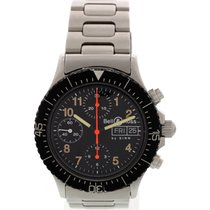 Bell & Ross Men's Bell & Ross By Sinn Chronograph...