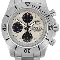 Breitling stainless steel Chronograph Steelfish