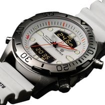 Deep Blue Depthmeter Ana/digi Dive Watch 200m Wr Temp/dive...