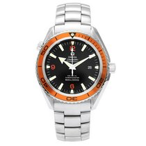 Omega Seamaster Planet Ocean Orange Bezel