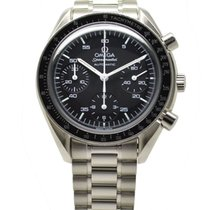 Omega Speedmaster Chronograph Stainless Steel Automatic Watch