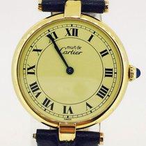 Cartier Must De Cartier Vermeil Quartz Gold Plated  [ Like New ]