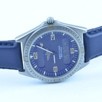 Breitling Herren Uhr Aerospace Chronograph Rarität Titan/gold...
