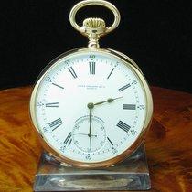 Patek Philippe Chronometro Gondolo 18kt. Gold Open Face...