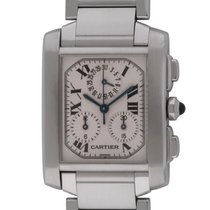 Cartier - Tank Francaise Chronograph : W51001Q3