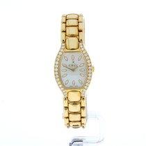 Ebel Beluga 18krt gold watch and bracelet, 72 diamonds, MOP dial