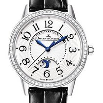 Jaeger-LeCoultre Day and Night Silver Dial Diamond Bezel Q3448421