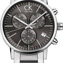ck Calvin Klein postminimal K7627161 Herrenchronograph Swiss Made