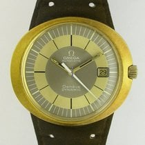 Omega DYNAMIC Automatic Rare 18k gold Mint