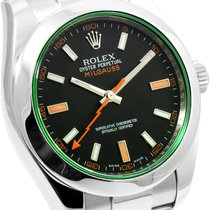 勞力士 (Rolex) Rolex Milgauss Green Crystal 116400GV w/ Rolex Card