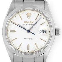 Rolex OysterDate Men's Vintage Stainless Steel Watch 6694