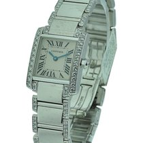 Cartier Tank Francaise Small Size with Diamond Case and Bracelet