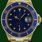 Ρολεξ (Rolex) Submariner 16618 Date 18k Yellow Gold Box&Pa...