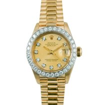 Rolex Datejust President Ladies 18k, Diamond Dial & Bezel,...