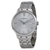 Montblanc Meisterstuck Heritage Automatic Silver Dial Stainles...