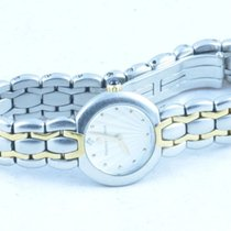 Maurice Lacroix Selena Damen Uhr Stahl/gold 25mm Mit Stahl Band