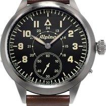 Alpina Geneve Pilot AL-435LB4SH6 Herrenarmbanduhr Sprunggehäuse