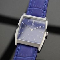 Omega Deville Automatic Mens Dress Watch W/ Blue Dial Rx144