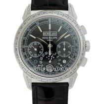 Patek Philippe 5271P-001 Manual Chronograph Perpetual Calendar...
