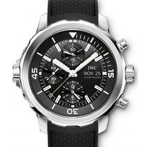 IWC Schaffhausen IW376803 Aquatimer Chronograph Black Index...