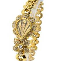 DeLaneau Jeweled Ladies with Diamond Case, Lugs