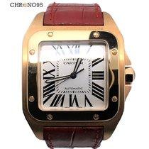 Cartier Santos 100 XL W20095Y1 Rose Gold