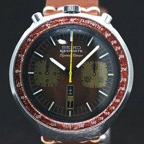 Seiko Speed Timer Bullhead Chronograph Automatic