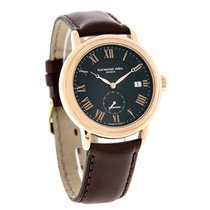 Raymond Weil Maestro Mens Rose Gold Brown Swiss Automatic...