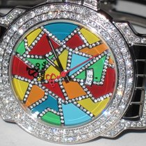 Jacob & Co. JC Multi Color Stainless Steel Diamonds