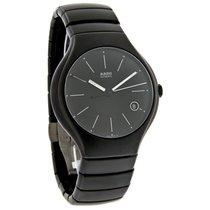 Rado True Mens Black Matte Ceramic Swiss Automatic Watch...