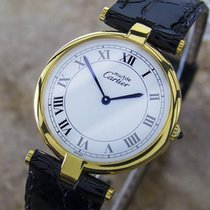 Cartier Must de Cartier 21 925 Silver Quartz 2000 Unisex 30mm...