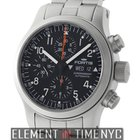 Fortis B42 Day-Date Chronograph Stainless Steel Black Dial...